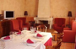 Un restaurante o sitio para comer en La Becera