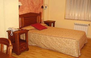 Cama o camas de una habitación en La Becera