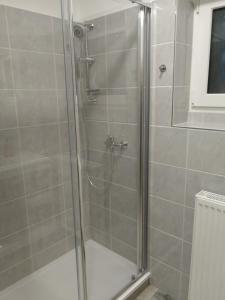 A bathroom at Hotel M&M