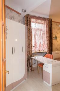 A bathroom at Spacious apartment in the center of Vladivostok