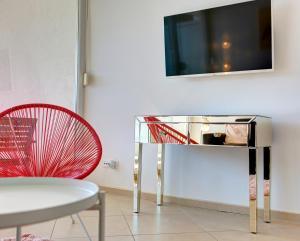 TV in/ali zabaviščno središče v nastanitvi Villa Katarina Dubrovnik