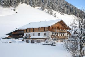 Hotel Alpenfrieden im Winter