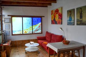 A seating area at Casa Rural Tile