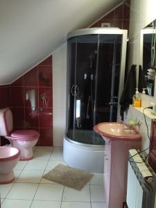 A bathroom at Dolce Vita
