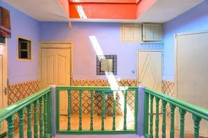 Ein Balkon oder eine Terrasse in der Unterkunft Hostel Kif-Kif