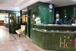The lobby or reception area at Hotel Cristallo Relais, Sure Hotel Collection By Best Western