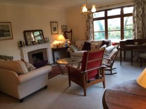 A seating area at Merrydown B&B
