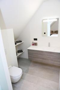 Een badkamer bij B&B Intermezzo