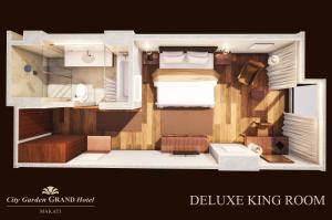 The floor plan of City Garden Grand Hotel