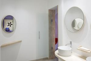 Een badkamer bij Hotel Corallaro