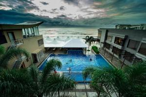 A view of the pool at The Gold Beach Resort or nearby