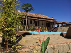 The swimming pool at or near Pousada São Gonçalo