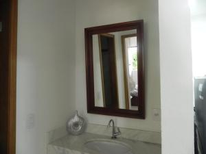 A bathroom at Aconchego e Requinte no Centro