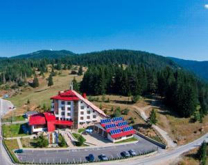 A bird's-eye view of Hotel Coop Rozhen