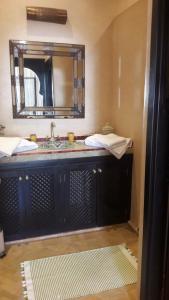 Salle de bains dans l'établissement Douar Lain