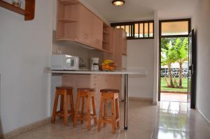 Een keuken of kitchenette bij Los Cactus