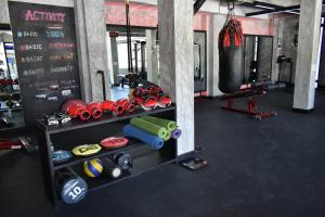 The fitness centre and/or fitness facilities at Phangan Bayshore Resort Koh Phangan