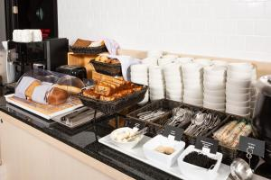 Breakfast options available to guests at AZIMUT Hotel Vladivostok