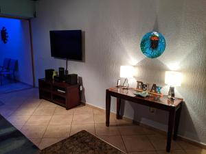 A television and/or entertainment centre at Rocky Point Sonoran Sky