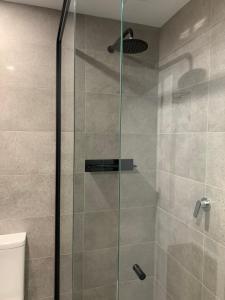 A bathroom at Jervis Bay Motel