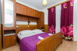 Posteľ alebo postele v izbe v ubytovaní Guest house Mediteran Relax