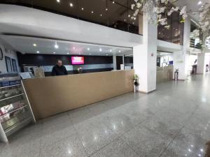 Vstupní hala nebo recepce v ubytování Hi Hotel Impala Queretaro