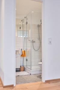 Ein Badezimmer in der Unterkunft Junker's Apartments