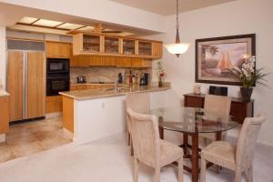 A kitchen or kitchenette at Mauna Lani Point