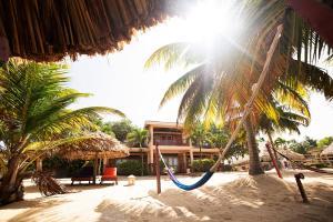 The swimming pool at or near Belizean Dreams Resort
