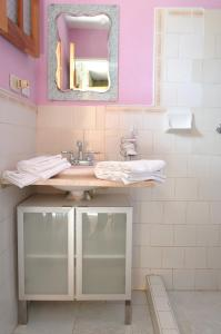 A bathroom at Hostal Miky