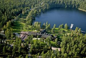 A bird's-eye view of Hotel Mullsjö