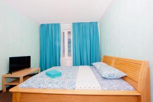 Un ou plusieurs lits dans un hébergement de l'établissement KvartiraSvobodna Tverskaya