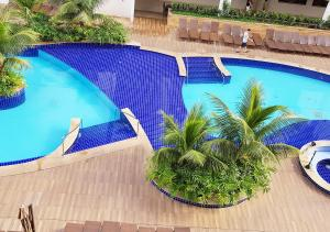A piscina localizada em Enjoy Olimpia Park Resort ou nos arredores