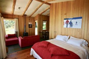 Cama o camas de una habitación en Lodge El Mirador De Guadal