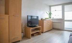 Telewizja i/lub zestaw kina domowego w obiekcie Apartament Gościnny Magda