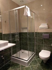 Łazienka w obiekcie Hotel Astra