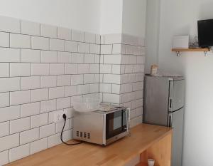 Una cocina o zona de cocina en Pension Cando