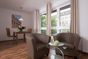 A seating area at Apartments am Brandenburger Tor