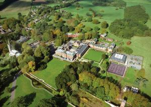 A bird's-eye view of Bosworth Hall Hotel & Spa