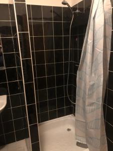 A bathroom at Penzión Pegas