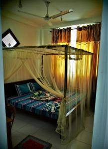 Ein Bett oder Betten in einem Zimmer der Unterkunft Disna Place