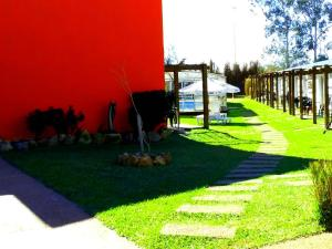 Jardín al aire libre en Complejo Juanjo Ramos
