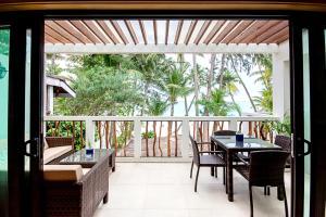 Balcone o terrazza di Villa Caemilla Beach Boutique Hotel