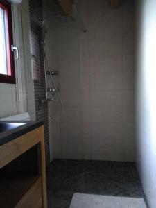A bathroom at Au Pas Du Comtois