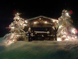 Villa Ortensia durante l'inverno