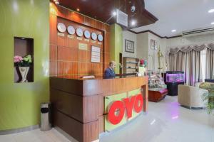 منطقة الاستقبال أو اللوبي في OYO 274 California Suites