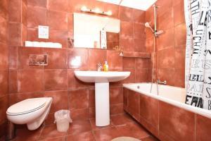 Łazienka w obiekcie City Central Hostel ŚWIDNICKA