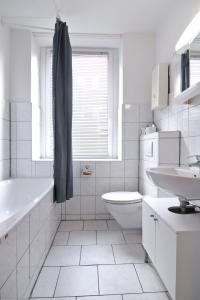 Ванная комната в Apartmondo Ferienwohnungen