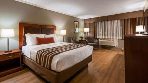 A bed or beds in a room at Best Western Plus Ottawa City Centre