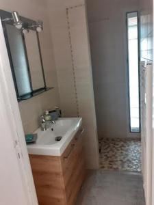 A bathroom at Chalet de Malvoue
